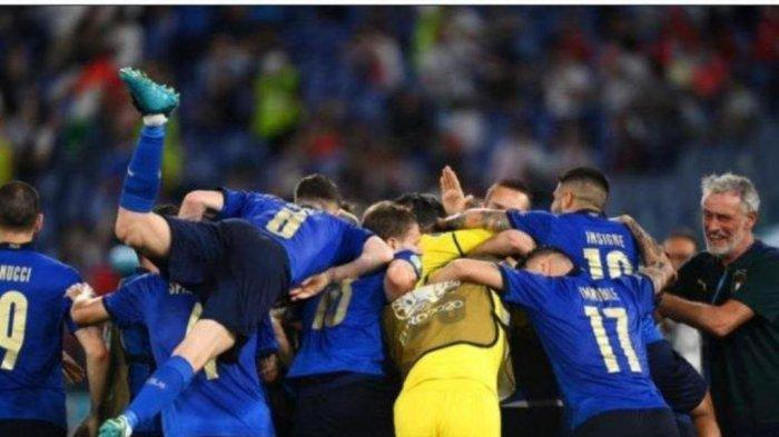 Italia Sempurna di Puncak Klasemen Hasil Akhir EURO 2020 Grup A, Wales dan Swiss Lolos 16 Besar