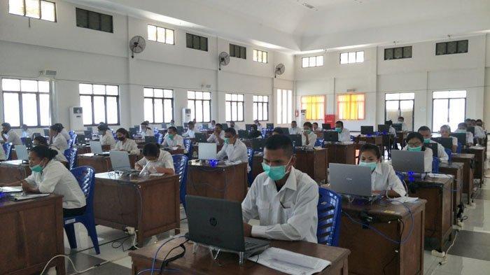 418 Peserta Ikut SKB CPNS Tahun 2020 di Kabupaten Manggarai Timur