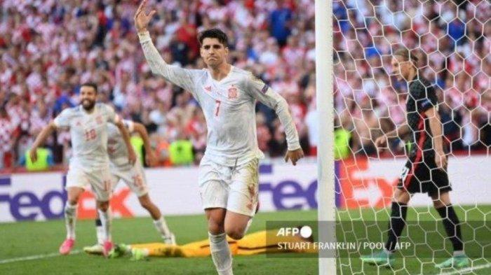 LIVE RCTI Perempat Final EURO Spanyol Vs Swiss - Prediksi Susunan Pemain, Head to Head & Jadwal Euro