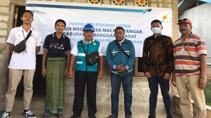 50 Tahun Penantian Layanan Listrik Kampung Weor Kabupaten Mabar Terjawab