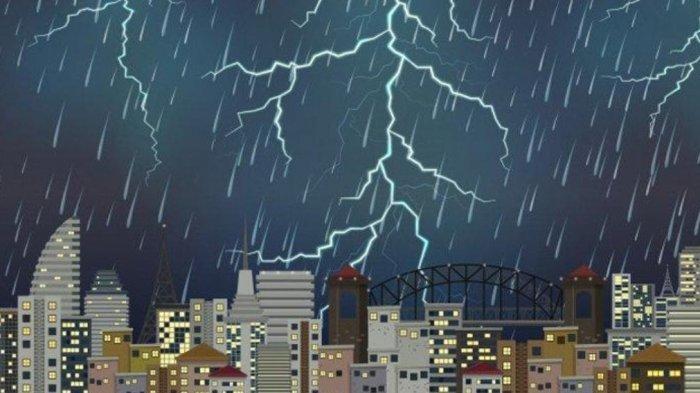 INFO BMKG Jumat 11 Juni 2021: Berpotensi Alami Cuaca Ekstrem 25 Wilayah Ini Diminta Waspada