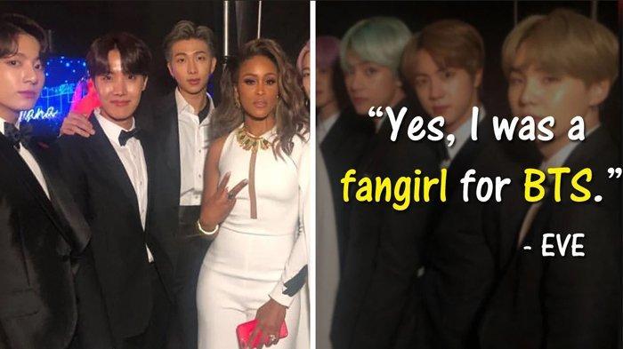 7 Potret Selebriti Dunia Bareng BTS di Grammy Awards 2019, Reaksi Para Member Menggemaskan!
