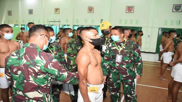 712 Calon Bintara NTT Ikut Sidang Parade Caba PK Korem Wirasakti