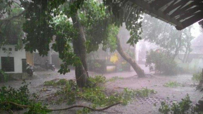 Peringatan Dini BMKG Senin 21 Juni 2021: Waspada Besok Ada Potensi Hujan Lebat dan Angin Kencang