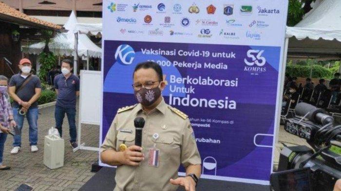 Anies Baswedan Umumkan PPKM Darurat di Jakarta, Ada yang Protes, Singgung Soal Kasus Korupsi Pejabat