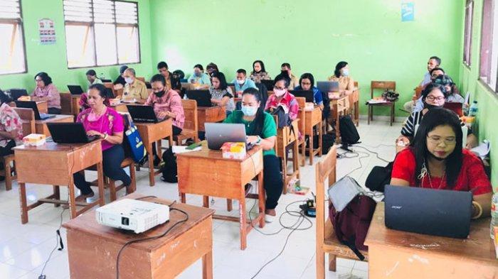 88 Guru Ikut Bimtek Penulisan Karya Ilmiah