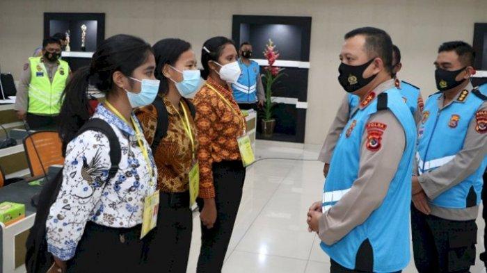 967 Casis Bintara dan Tamtama Polri T.A 2021 Ikut Pemeriksaan Kesehatan Tahap II