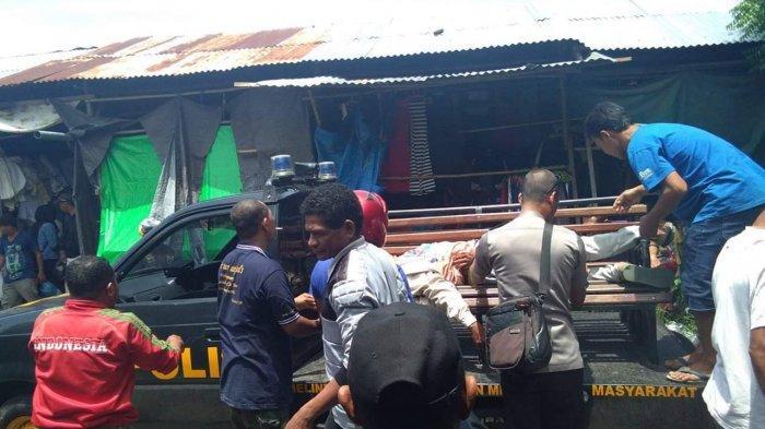 Ternyata Pria Ditemukan Muntah-Muntah di Pasar Alok, Sikka-NTT SudahMeninggal Dunia