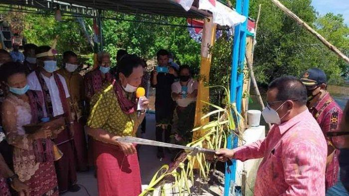 JTP Waro Hepe Solor Barat Kabupaten Flores Timur Diresmikan