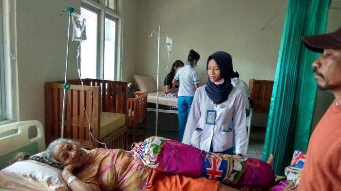 Pasien RS Bhayangkara Trauma, Pasca Angin Kencang Porak-Porandakan Ruang Rawat Inap