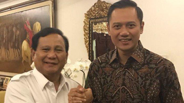 Agus Harimurti Yudhoyono Digadang Akan Jadi Cawapres, Begini Kata Prabowo Subianto