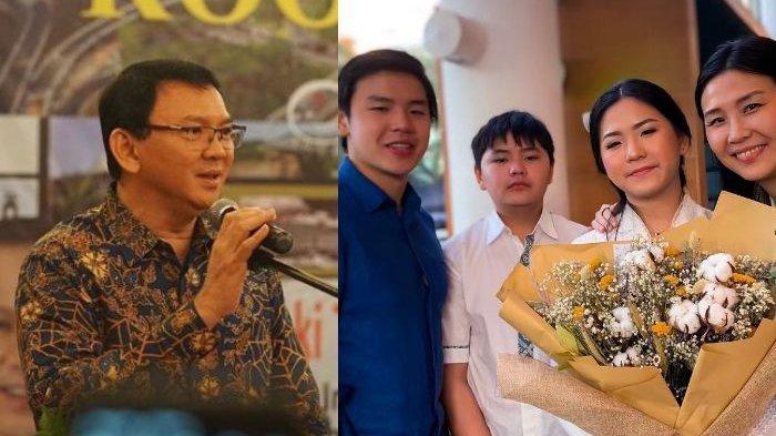 Ahok dan Veronica Tan Tiba-tiba Ketemuan, Belanja Sepatu Buat si Bungsu, Begini Suasana Saat Bersama