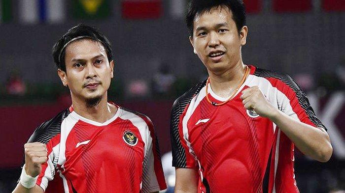 Mampukah Ahsan/Hendra Mengalahkan Lee/Wang dan Melaju ke Final Bulu Tangkis Olimpiade Tokyo 2021?