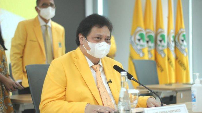 Airlangga Yakin Kader-Kader Muda Golkar Mampu Berikan Terobosan Hadapi Pandemi