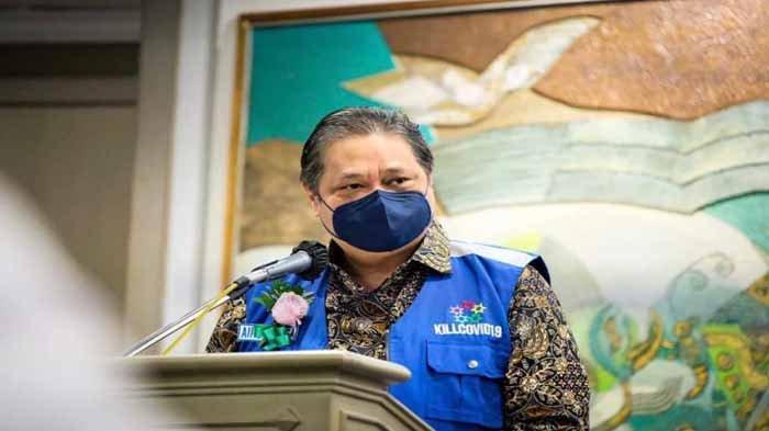Airlangga Pastikan Oksigen dan Obat-Obatan Covid dan Oksigen untuk Luar Jawa - Bali Aman