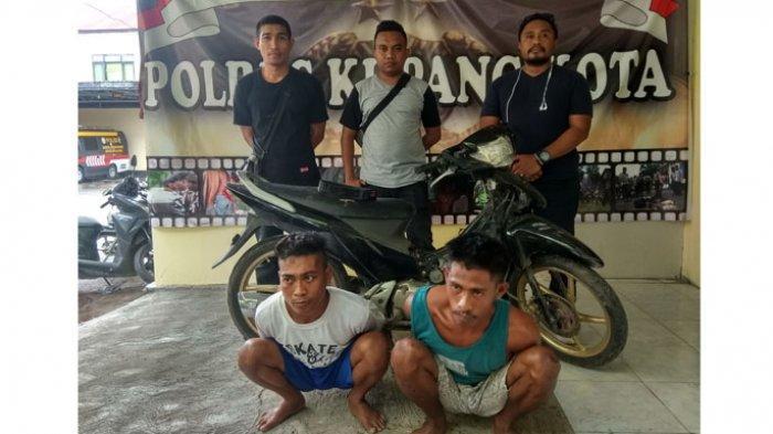 Dua Pemuda di Kota Kupang Mengaku Uang Hasil Jambret Digunakan untuk Beli Miras
