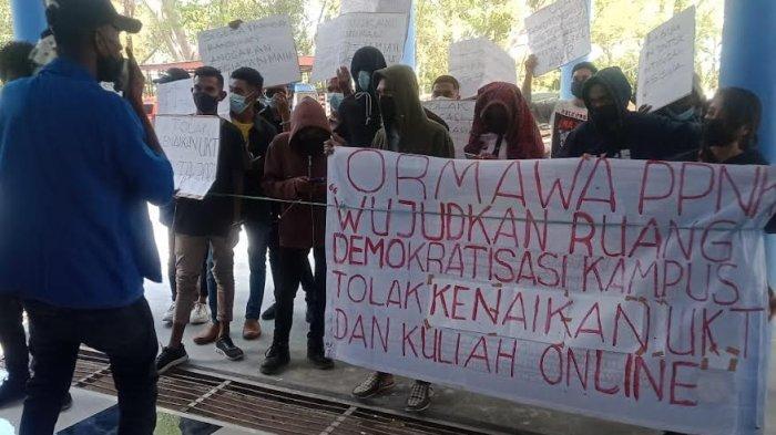 Mahasiswa Politani Kupang Gelar Aksi Demo, Ini Alasannya