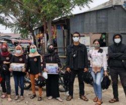 KOMPAS Lembata Galang Dana Bantu Korban Gempa di Sulawesi