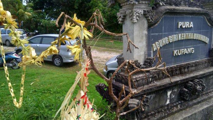 Jelang Raya Nyepi, Umat Hindu Kupang Persiapkan Penjor Untuk Lomba