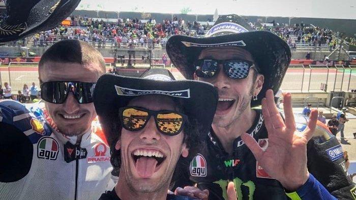 Ini Kata Valentino Rossi Angkat Soal Konflik Alex Rins vs Marc Marquez di MotoGP Ceko 2019