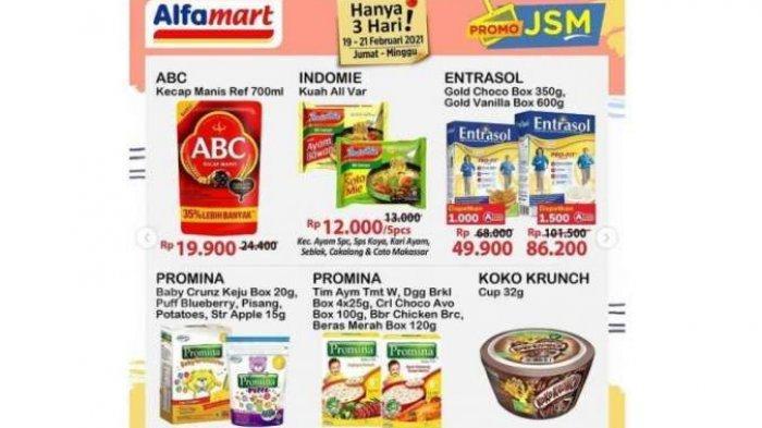 Promo Alfamart Hari ini 21 Februari 2021, Katalog Promina Beli1 +Gratis1, Beras dan Indomie Murah