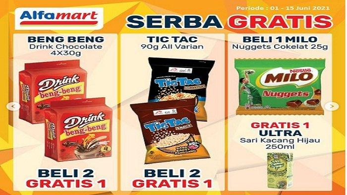 Promo Alfamart Serba Gratis Rabu 9 Juni 2021, Sleek Beli 1 Gratis 1, Beng Beng Drink Beli 2 Gratis 1