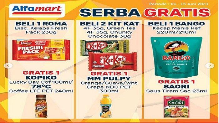 Alfamart Promo Serba Gratis Minggu 6 Juni 2021, Kecap Bango Beli 1 Gratis Saori Saus Tiram
