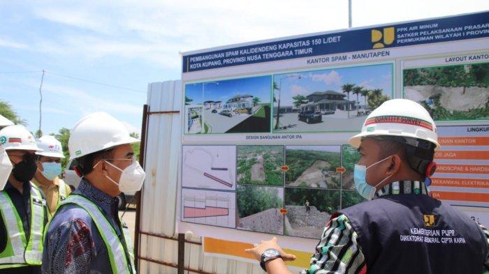 Wali Kota Kupang Pantau Pengerjaan IPA Kali Dendeng