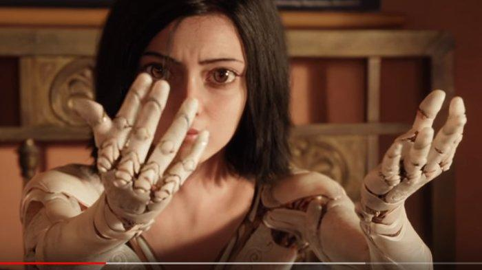 Film Alita: Battle Angel, Mulai Tayang di Bioskop Hari Ini: Aksi Tarung Robot Wanita Cantik