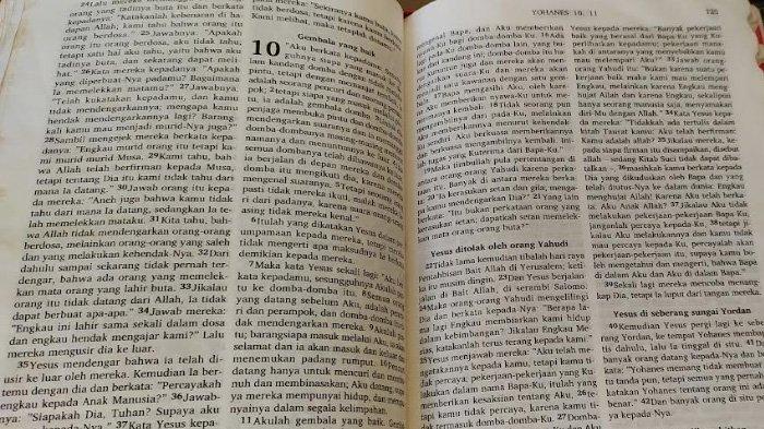 Ilustrasi bacaan renungan harian Katolik dari Alkitab.