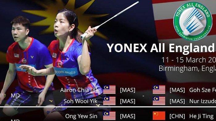 Link Live Streaming TVRI All England 2020: Mulai Pukul 16.00 WIB, Nonton Wakil Indonesia