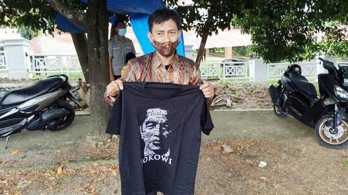 Jokowi Resmikan Bendungan di Wajo Sambil Bagi-bagi Kaos, Baso Mappatunru: Terima Kasih Bapak Jokowi