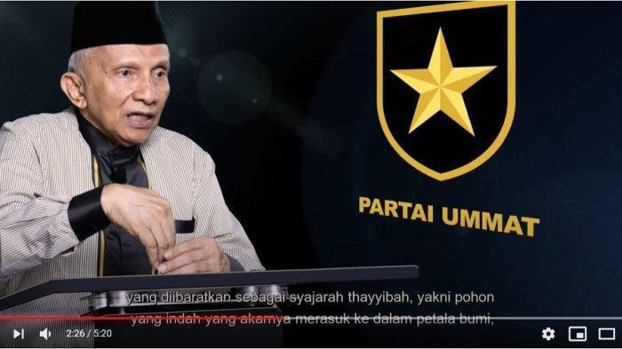Sejumlah Pengurus Partai Ummat Undur Diri, Amin Rais Komentar, Singgung Neno Warisman & Agung Mozin
