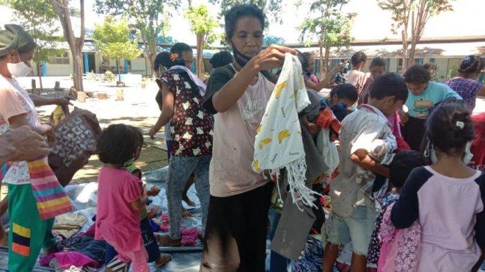 Update Bencana Alam, 7 Ribu Warga NTT Masih Berada di Posko Penampungan