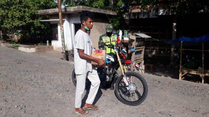 Anak Muda Hingalamamengi Galang Dana Untuk Korban Erupsi Ile Lewotolok