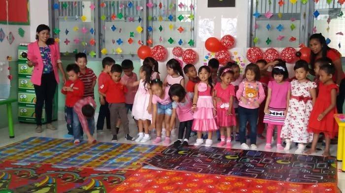 Begini Cara Anak TK Citra Bangsa Rayakan Valentine