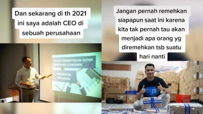 Viral, Mantan Anak Jalanan Sukses Jadi CEO Perusahaan di Bekasi Bikin Bangga Orang Tua, Ini Kisahnya