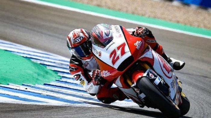 JADWALMotoGP 2020 Malam Ini, Posisi Andi Gilang Moto2 FP3 MotoGP Emilia Romagna, Sesi Latihan Bebas