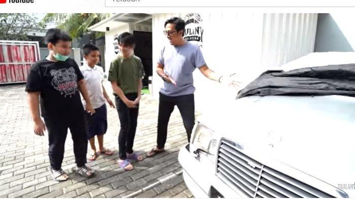 Ulah Andre Taulany Beli Mobil Klasik untuk Anak, Mau Isi Bensin di SPBU Teman Sule Malah Lupa Dompet