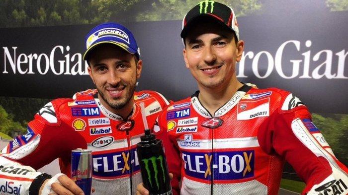 Laga MotoGP Ceko 2018, Begini Dua Pebalap MotoGP Lorenzo dan Dovizioso Saling Sindir, Kenapa Bisa?