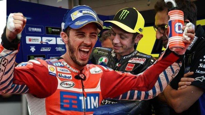 Valentino Rossi Bernasib Sial Gara-gara Hal Sepele saat Tes Pramusim MotoGP, Simak YUK