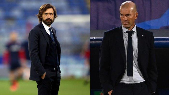 Andrea Pirlo Hampir Pasti Gagal, Juventus Rindukan Zinedine Zidane Jadi Pelatih