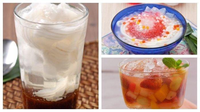 DINGIN dan SEGAR,Begini Resep & Cara Membuat Aneka Minuman,Mulai dari Es Tambiring hingga Es Koktail