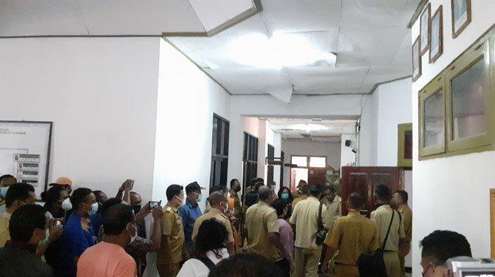 Anggota DPRD Pukul Lurah Naikoten I, Puluhan Lurah Duduki Kantor DPRD Kota Kupang