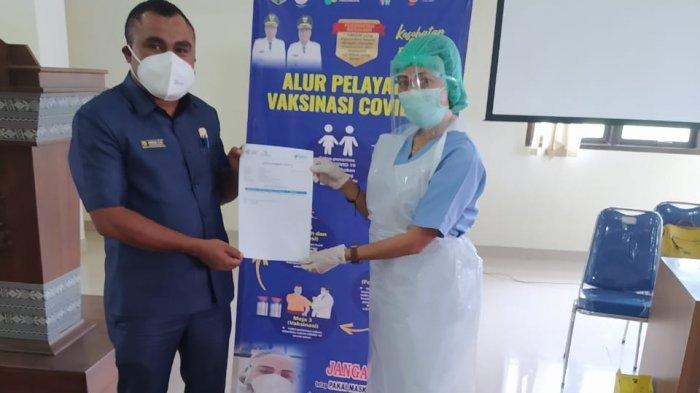 Anggota DPRD TTS Kenas Afi : Jangan Takut Divaksin