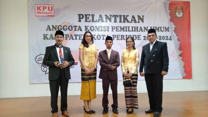 Lima Anggota KPU Ngada Resmi Dilantik