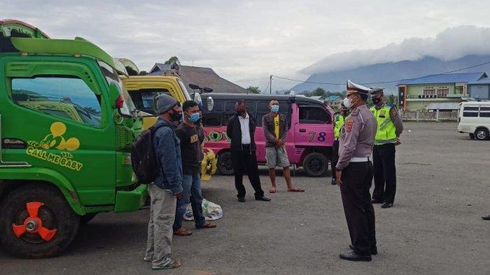 Lindungi Masyarakat Dari Penularan Covid,Operasi KRYD Polres Manggarai Imbau Masyarakat Taat Prokes