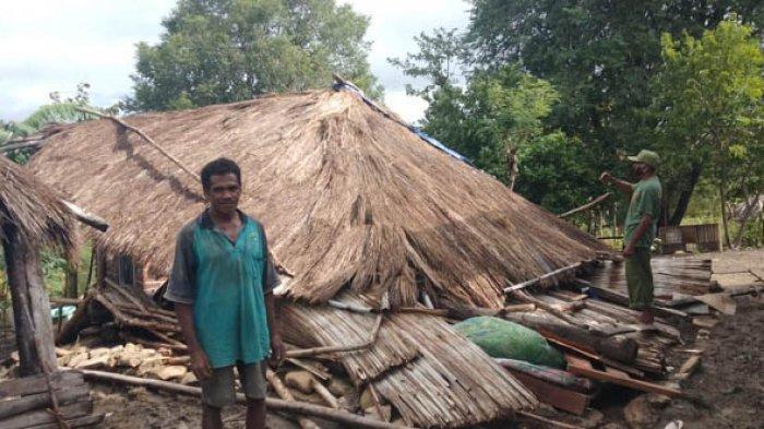 Kronologi Rumah Warga di Amabi Oefeto Timur Diterjang Angin Puting Beliung