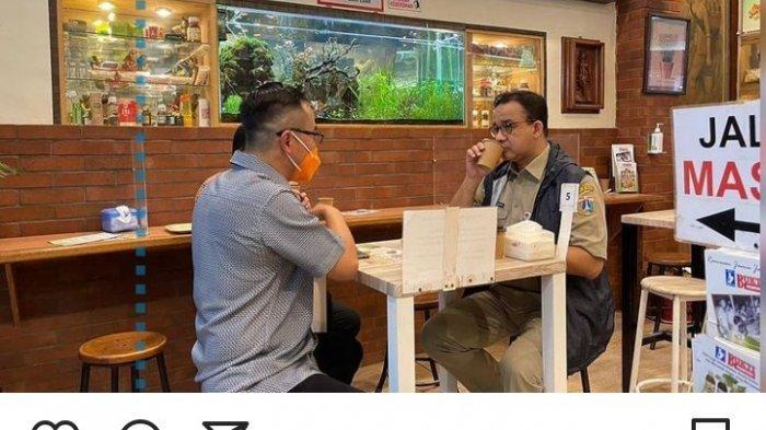 Anies Baswedan Nongkrong di Warung Jamu, Peduli Produk Tradisional, Netizen: Anies For RI 1 2024