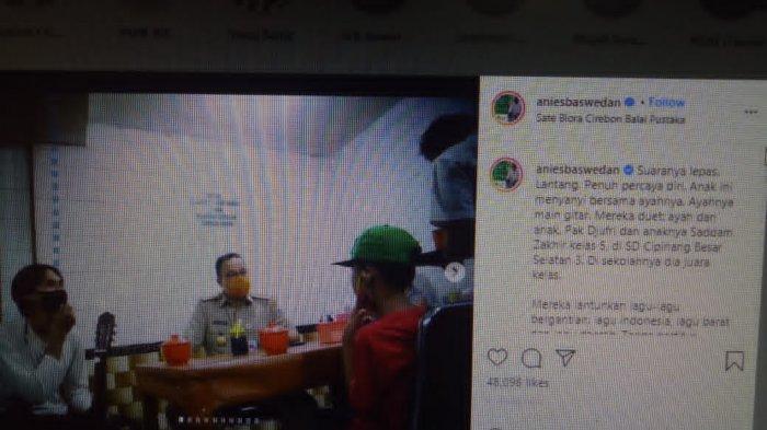 Nongkrong di Warung Sate Bersama Pengamen, Anies Baswedan Banjir Pujian, Singgung Rumah DP 0 Rupiah?